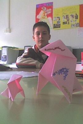 Ocells de paper amb els nostres desitjos